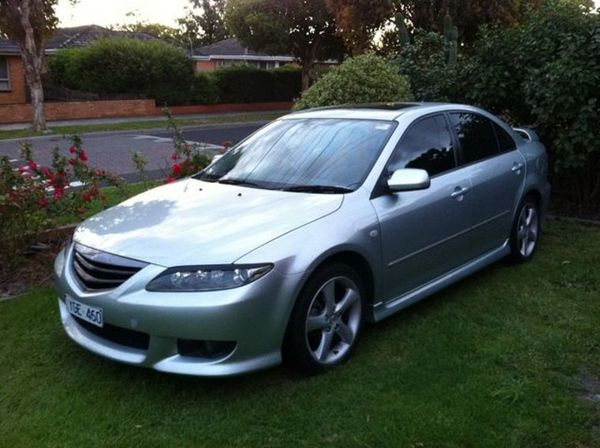 Jony's 2002 MAZDA 6 GG series 1 LUXURY SPORTS HATCH