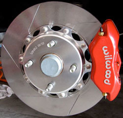 Miata Brakes Red Willwood