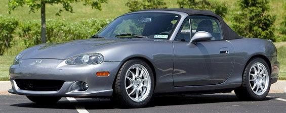 Miata NA/NB 1990-2005 Wheels - Mazda Performance Parts