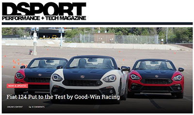 Fiat 124 Put to the Test by Good-Win Racing