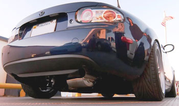 Miata NC RoadsterSport Exhaust