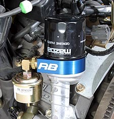 Oil Temperature and Pressure Sensor Adapter for RX8 2004-2008