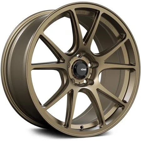 Konig Freeform RADIUM Bronze  for MX5-ND , 17x8