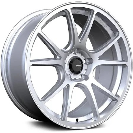 Konig Freeform Matte Silver for MX5-ND , 17x8