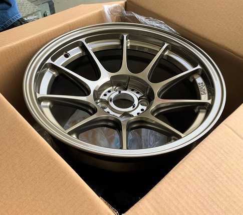 Konig Dekagram 15x10 4X100 ET25 Bronze for Miata , 15x10