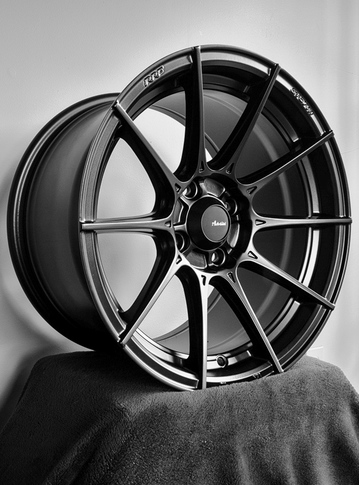 Advanti Racing Storm S1 4X100, ET35 - Matte Black for MX5-ND , 17x7