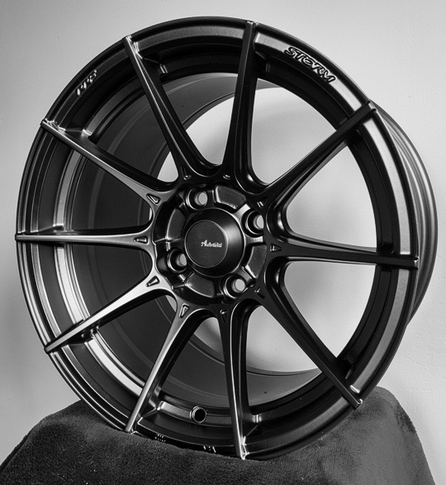 Advanti Racing Storm S1 15x7 Black for Miata , 15x7