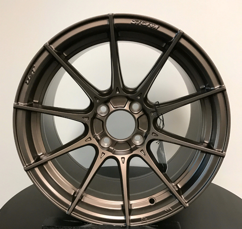Advanti Racing Storm S1 15x8 Matte Bronze for Miata , 15x8