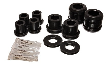 Energy Suspension Front End Control Arm Bushing Set - Black for RX8
