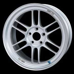 Enkei RPF1 18x9.5 45mm offset 5x114 Silver for MX5 , 18x9.5