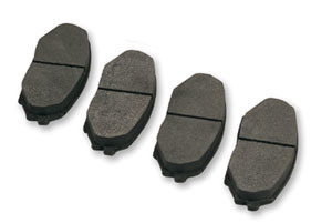 Hawk Black Miata Brake Pad Set - Rear for Miata 1994-2002