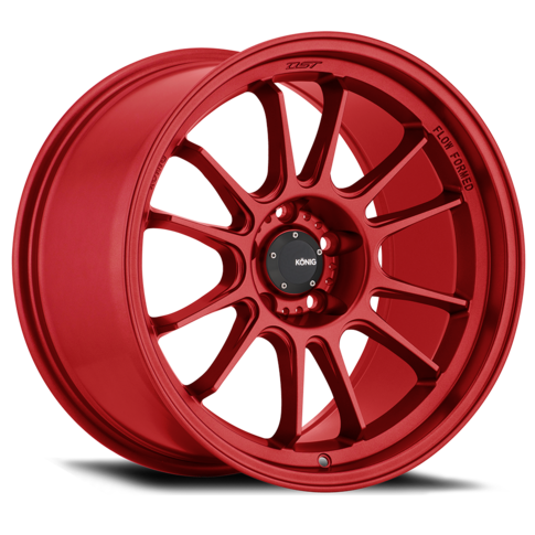 Konig Hypergram 17x9 Red Opal for BRZ-FRS-86 , 17x9