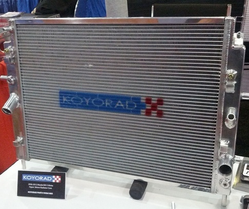 KOYO MX5 Miata High Performance 36mm HyperCore All Aluminum Radiator Upgrade VH061885 for MX5
