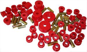 Complete Miata Prothane Urethane Bushing Kit - RED for Miata