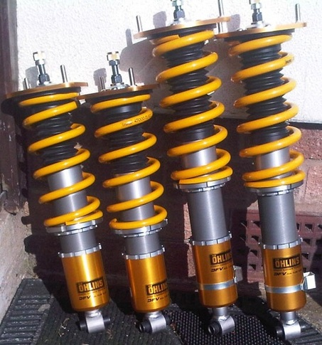 Ohlins RACE VALVED Road and Track DFV Coilovers for Miata