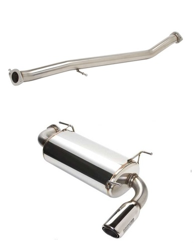 Racing Beat Power Pulse Sport Exhaust System- COMBO for