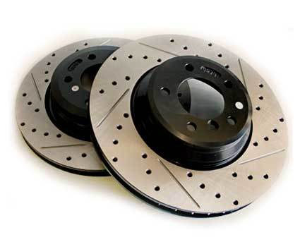 StopTech ND Drilled and Slotted Rotors - Rear for MX5-ND