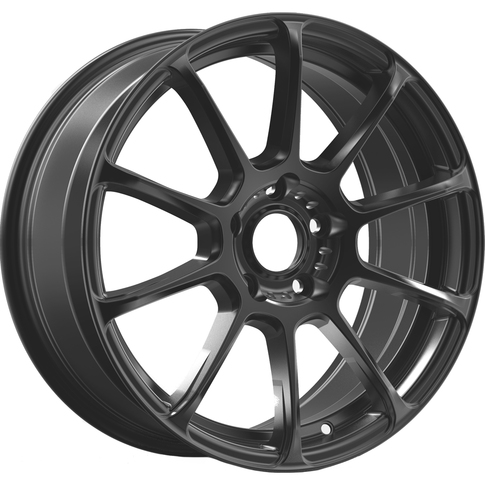 Konig Runlite 4X100, ET45 - Matte Black for MX5-ND , 17x7.5