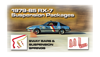 RX-7 Suspension Package 79-85 for RX7 1979-1985
