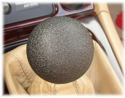 Voodoo Knob Magnum Black Textured Finish for MX5