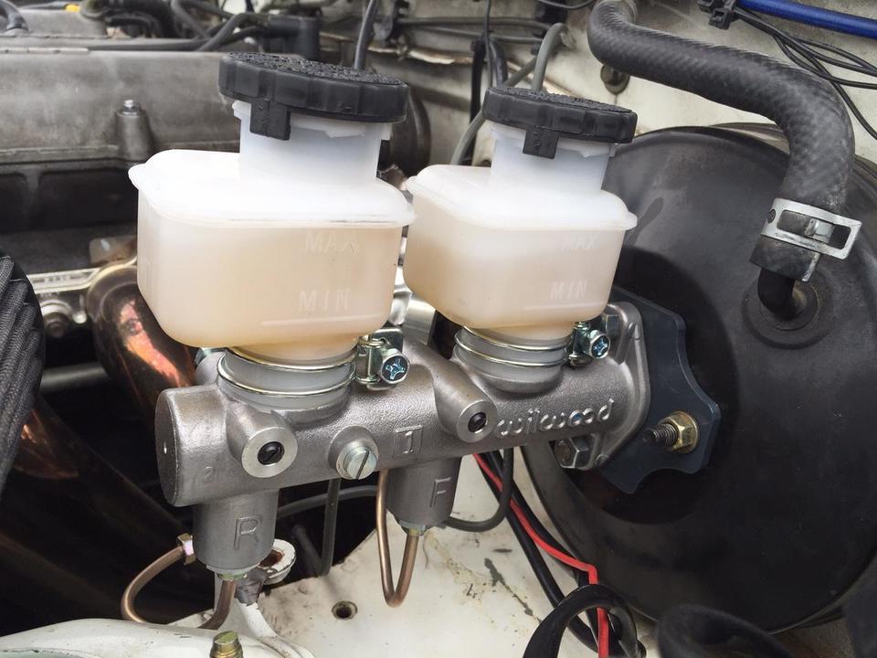 Wilwood Brake Master Cylinder Upgrade Kit for Miata