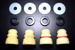 GWR 58 Red / 58 White Stock Class Bump Stop Kit