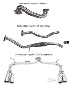 RoadsterSport Fiat 124 Exhaust Combo