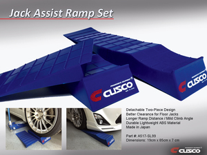 Cusco Jack-Assist Ramp Set