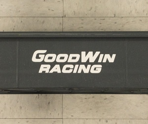 Good-Win Racing Small Decal - Die Cut