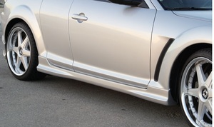 RX-8 Side Skirts 04-09