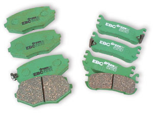 Ebc Green Stuff Brake Pads Rear For Miata 1990 1993
