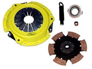 ACT Clutch Kit Xtreme Pressure Plate 6-Pad Race Disc 06 Mazda Miata 6-Speed