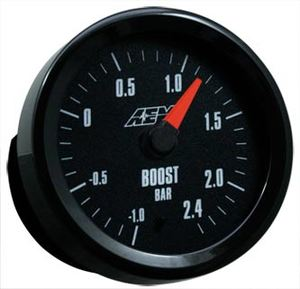 Boost Gauge -1 to 2.4BAR w/Analog Face