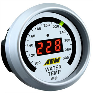 AEM Water Temp Gauge 100-300F
