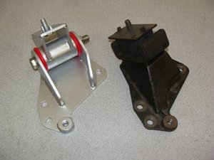 Complete Upgraded Motor Mounts - Pair of 88 Durometer