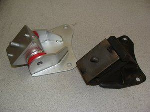 Complete Upgraded Motor Mounts- 88 Durometer Pair