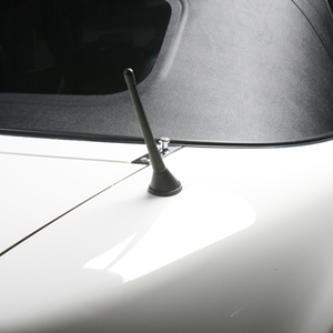 Raked Shorty Miata Antenna - Black