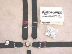 Autopower Six Point Harness