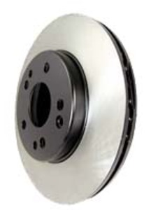 RX8 Centric Premium NON-slotted Rotor with Coated Center, Rear