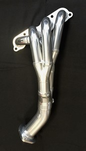 RoadsterSport MAX TORQUE Standard Length MX5 Miata Stainless Header---BRIGHT SILVER CERAMIC FINISH Stainless Steel