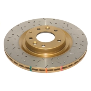DBA 4000XS Cross Drilled and Slotted Rotor- REAR