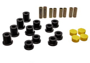 Energy Suspension Control Arm Bushing Set- Front BLACK