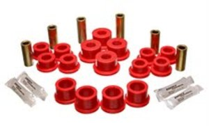 Energy Suspension Rear End Control Arm Bushing Set - Red