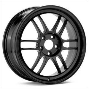 Enkei RPF1 35mm offset 5x114, 15.6 pounds BLACK