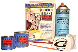 Brake Caliper Paint System - RED