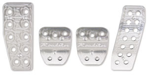 Performance Billet Pedal Set - No Logo