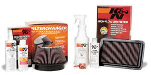 KandN Air Filter Oil RECHARGE KIT