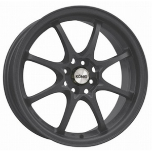 Konig Helium FLAT BLACK 40mm offset.