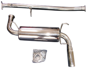COMPLETE Cat-Back RoadsterSport 3 Miata Polished Stainless Steel Exhaust for 90-97
