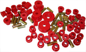 Complete Miata Prothane Urethane Bushing Kit - RED